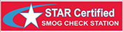 Smog Check Station Star Certified Logo